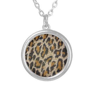 Muster -- Leopard Versilberte Kette