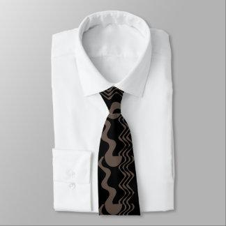 Muster mit Bewegung Krawatte