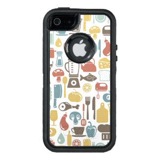 Muster mit dem Kochen der Ikonen OtterBox iPhone 5/5s/SE Hülle