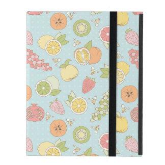 Muster mit Früchten und Beeren iPad Schutzhülle