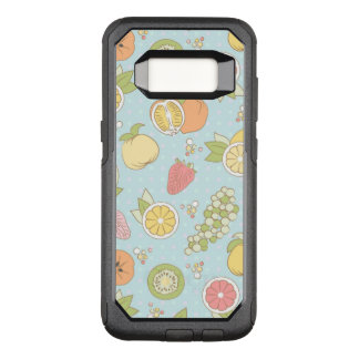 Muster mit Früchten und Beeren OtterBox Commuter Samsung Galaxy S8 Hülle