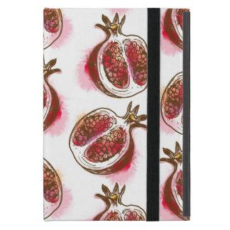Muster mit Granatapfel iPad Mini Schutzhüllen