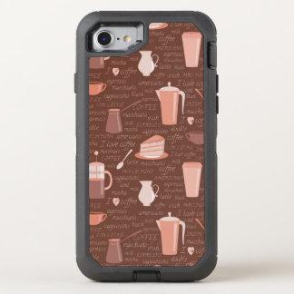 Muster mit in Verbindung stehenden Elementen des OtterBox Defender iPhone 8/7 Hülle