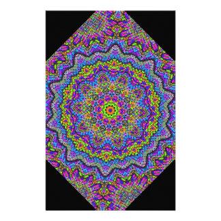 Muster-Regenbogen Individuelle Druckpapiere