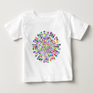 Muster Sechsecke pattern hexagons Baby T-shirt