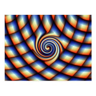 Muster siwrl entworfen durch Tutti Postkarte