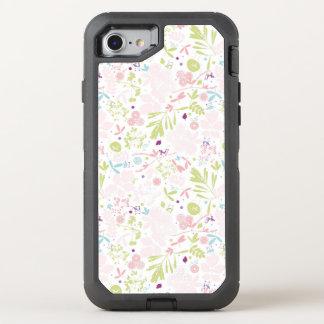 Musteranzeigen mit Blumen OtterBox Defender iPhone 8/7 Hülle