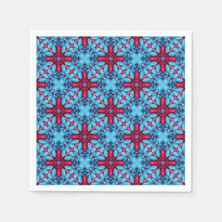 Mustern Sie Süßigkeits-Kaleidoskop-   Papierserviette