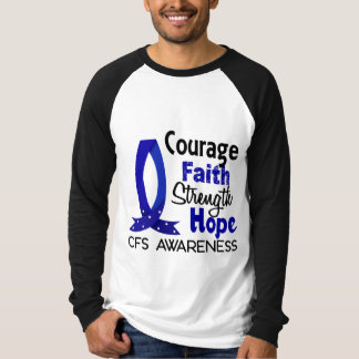 Mut-Glauben-Stärken-Hoffnung CFS- T-Shirt