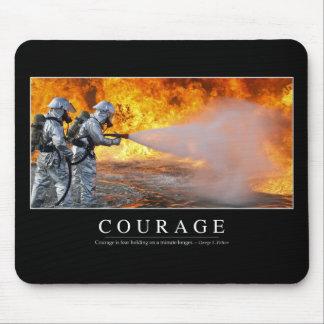 Mut: Inspirierend Zitat Mousepads