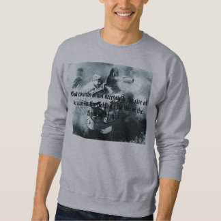 Mut, welche Zählungen nicht notwendigerweise das Sweatshirt