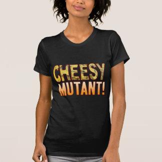 Mutant-blaues käsiges T-Shirt