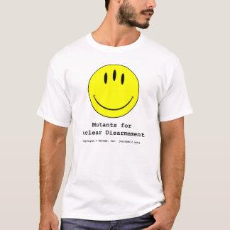 Mutanten für nukleare Abrüstung T-Shirt