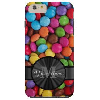 Muticolored bunte Süßigkeit personalisiert Tough iPhone 6 Plus Hülle