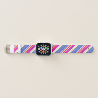 Mutige Farben, feines Grafikdesign Apple Watch Armband