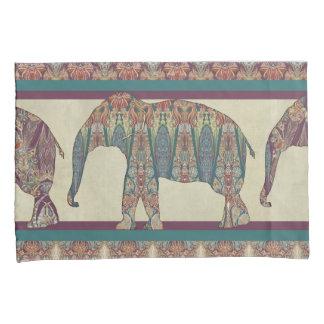 Mutige modische Elefant-Kunst Kissen Bezug