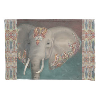 Mutige modische Schlafzimmer-Elefant-Kunst Kissenbezug