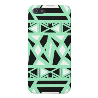 Mutige Stammes- Minze iPhone 5 Cover