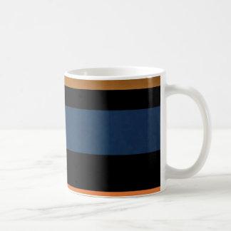 Mutige Streifen-Kunst-Deko-Sammlung Kaffeetasse