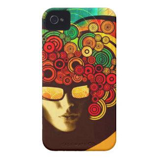 mutiger Abdeckungsfall des psychedelischen iPhone 4 Case-Mate Hüllen