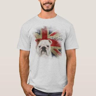 Mutiger britischer BulldoggeGrungeart T-Shirt