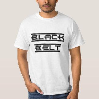 Mutiger Kampfkunst-schwarzer Gürtel T-Shirt