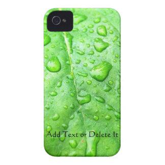 Mutiger Kasten des Frühlings-Regen-BlackBerry iPhone 4 Hüllen