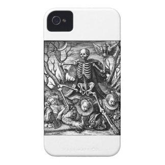 Mutiger Kasten des Todestriumphierenden BlackBerry iPhone 4 Case-Mate Hülle