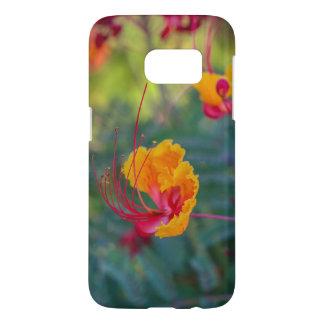 Mutiger tropischer Blumen-Samsungs-Galaxie-Kasten