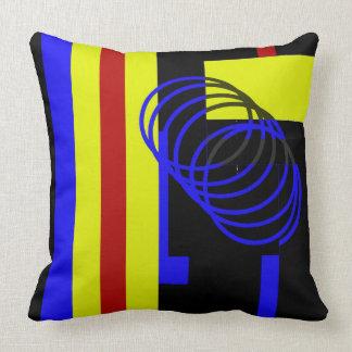 Bold Color Throw Pillow