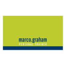 Mutiges männliches Limones Marineblau des Visitenkarten