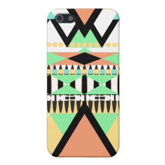 Mutiges Pastellstammes- iPhone 5 Etui