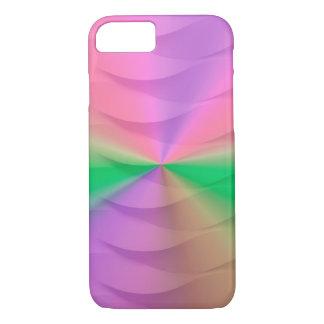 mutiges Regenbogenwebartspektrum iPhone 8/7 Hülle