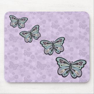 Mutiges Schmetterling mousepad