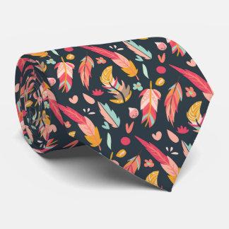 Mutiges und buntes Boho versieht Dunkelheit mit Personalisierte Krawatten