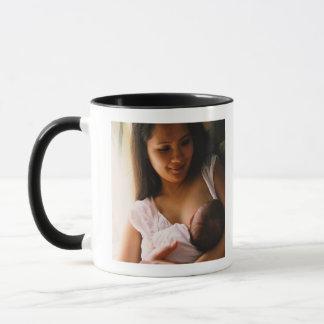 Mutter Brust-Füttern neugeboren Tasse