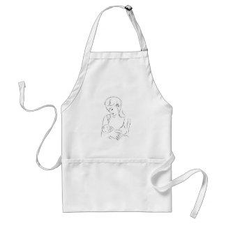 Mutter-Brust-fütterndes Säuglings-Baby Schürze