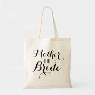 Mutter der Braut-Gewohnheit Budget Stoffbeutel
