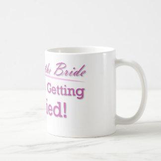 Mutter der Braut Kaffeetasse