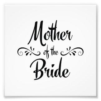 Mutter der Braut - lustiges Proben-Abendessen Fotografische Drucke