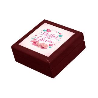 Mutter der Bräutigam-Süßigkeits-Herz-Geschenkboxen Erinnerungskiste