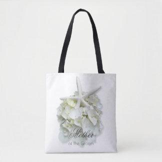 Mutter der Bräutigamweißen Blumenstarfish-Tasche Tasche