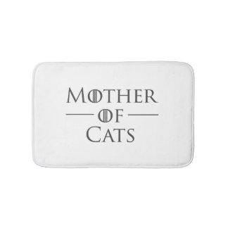 Mutter der Katzen Badematte