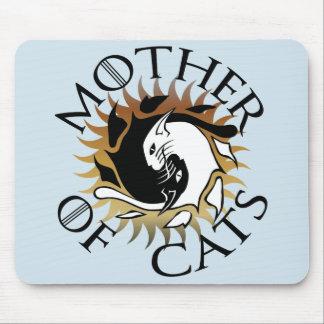 Mutter der Katzen-Mausunterlage Mauspad