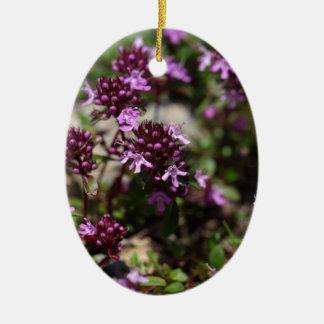 Mutter der Thymian-Blumen (Thymusdrüse praecox) Keramik Ornament