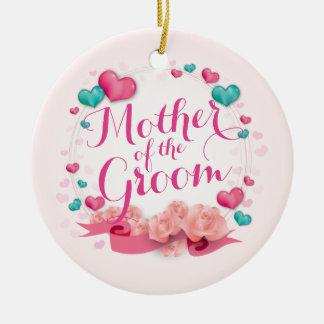 Mutter der Verzierung der Keramik Ornament