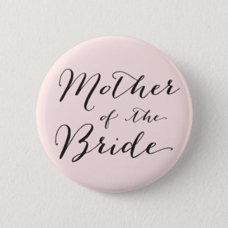 Mutter des Braut-Hochzeits-Brautparty-Knopfes Runder Button 5,7 Cm