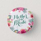 Mutter des Braut-Hochzeits-Button-Knopfes Runder Button 3,2 Cm