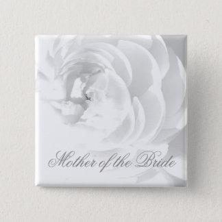 Mutter des Braut-Knopfes (oder?) Quadratischer Button 5,1 Cm