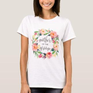 Mutter des BräutigamblumenKranzes -3 T-Shirt